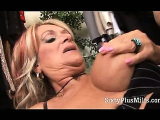 Experienced GILF Pussy Crammed