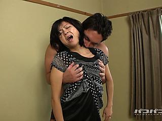 P fearsome Older menacing Chiaki Miwa 50yo Scene 02