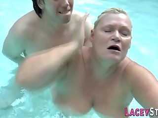 Lacey Star gets her old cunt ploughed hard